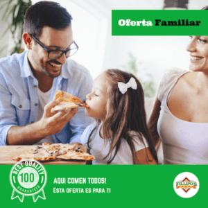 oferta familiar pizzas